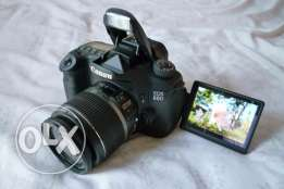 Canon 60D with 18-55mm IS Lens