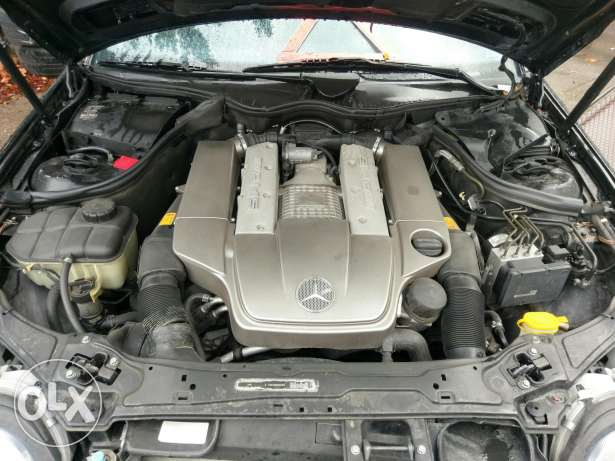 Mercedes C32 AMG full 349 hp v6 supercharged انطلياس -  1