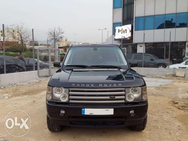 Range Rover Vogue MY2003 Silver/Black Leather Mint Condition