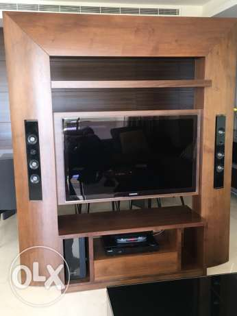 TV unit + home theater