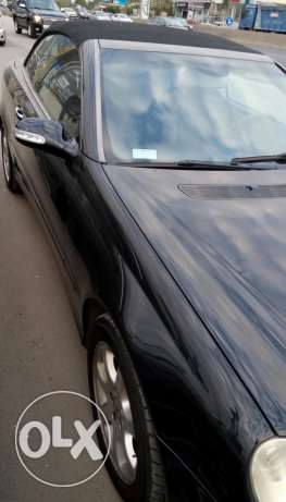 Merecedes clk 320 model 2004 full option 03/843812 ذوق الخراب -  3