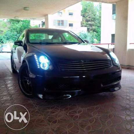 Infinity G35 2004 - Modified Black on Grey