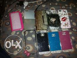 9 iphone 5/5s covers for girls verry nice and new