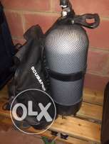 Complete diving equipment