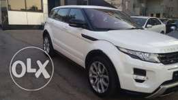 Range Rover Evoque White 2013 Dynamic