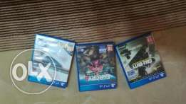 3 games ps4 for sale