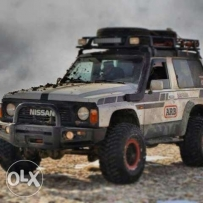 Fully equiped nissan patrol