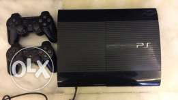 playstation 3 slim 500gb with 13cd and bag