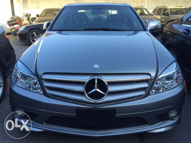 a very clean Mercedes c300 panoramic