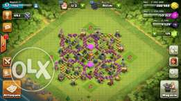 Clash of clans th7max 3 belders
