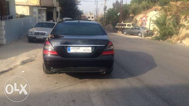 mercedes s350 L look AMG, with plate number 97097 راس  بيروت -  5