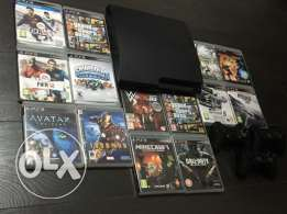 ps3 14 games 3 controller only for 225$