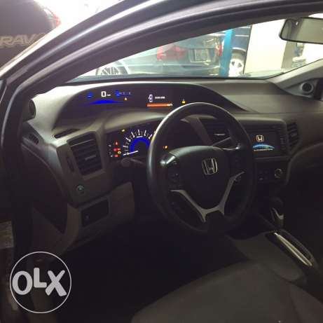 honda civic EXL model 2012 jeld w fat7a w jnota صرفند -  5