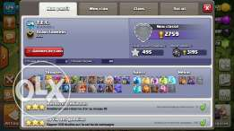 clash of clans max th10 lvl 129