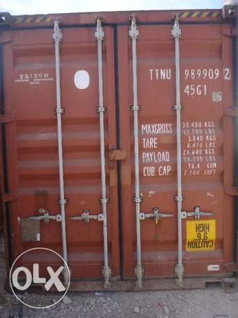 40 feet high cube container المرفأ -  2
