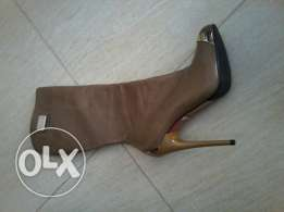 Boots never used size 38 color havane