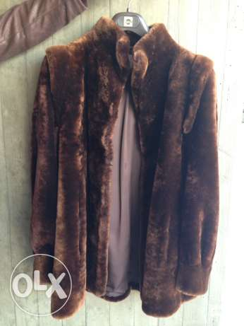 French Faux Fur Coat, made in Paris