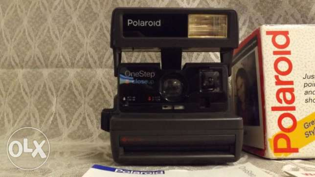 Vintage Polaroid One Step Close Up 600 Camera IN BOX