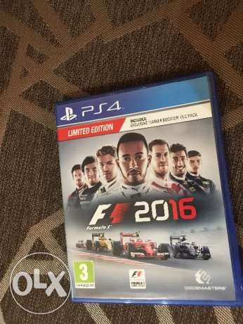 Formula1 2016 ps4 used once only