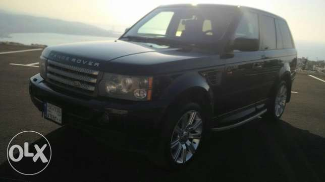 Range Rover 2007 Super charge أدما والدفنه -  2
