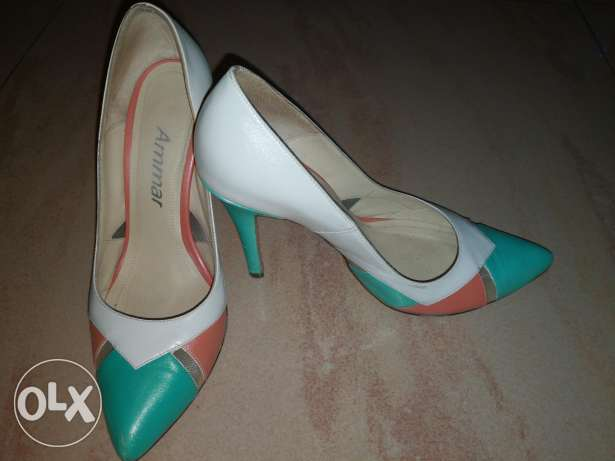 Beautiful spring almond toe pump Shoes