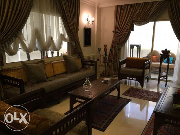 350 m2 super elegant apartment in mansourieh 1 parking