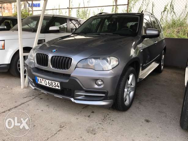 X5 2009 Gray/Black 7Seat For Sale