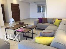 modern furniture ( living room 6 pieces + 3 wooden and metal tables)