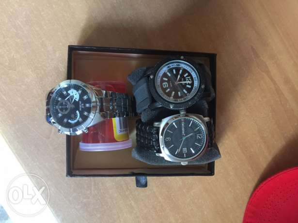 3 AWESOME classy watches ! Original And great Quality