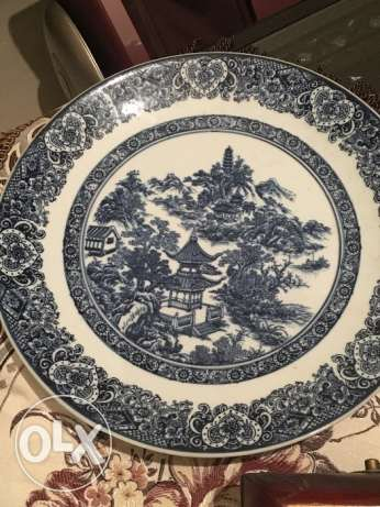 Antique large plate كسروان -  1