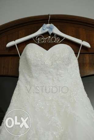 Designer Wedding Dress for Sale!! FREE evening dress included بعبدا -  2