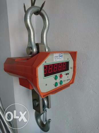 Scale Hanging Digital 3000 KG NEW