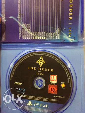 Cd ps4 (the order)
