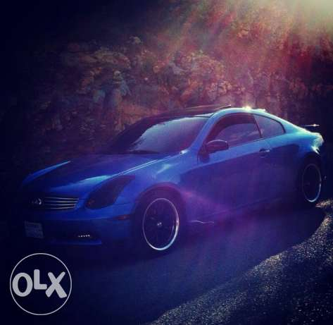 infinity g35 coupe mod 2003 technology -super clean car - zaweyed... الشوف -  7