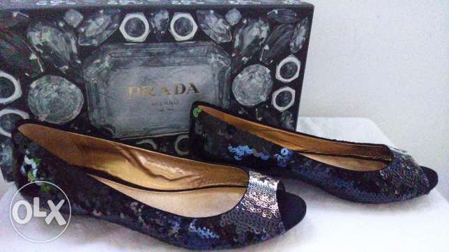 Original Prada Sequin Pumps راس  بيروت -  3