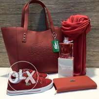 shoes bag and wallet