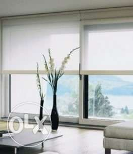 Somfy curtains with motor