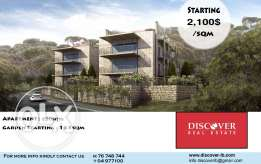 Luxurious apartments for sale in Baabdat
