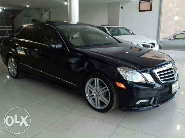 Mercedes E350 W212 mod 2010 Fulloption clean carfax camera keyless go كسارة -  4