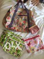 bags from the french brand : papa pique et maman coud