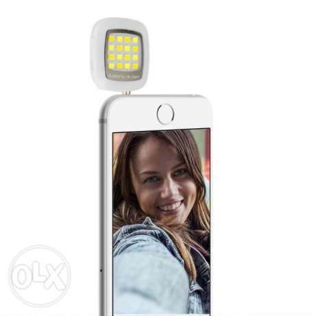 Phone flash lighting Selfie Night enhancing 3.5mm studio led light, Po