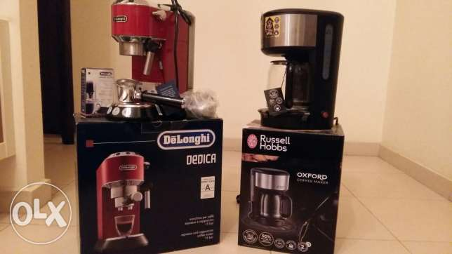 1 cappuccino and 1 coffee maker