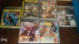 Ps3 games for sale very good condition