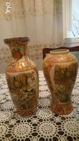 Two Chinese Vase, very old over than 100 years, Handmade still as new فردان -  1