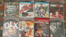 PS3 + 1 joystick + 8 Games