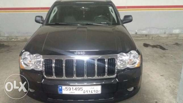 Jeep cherkee 2009 black