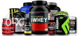 Original New Sealed Gym Supplements with the best prices !