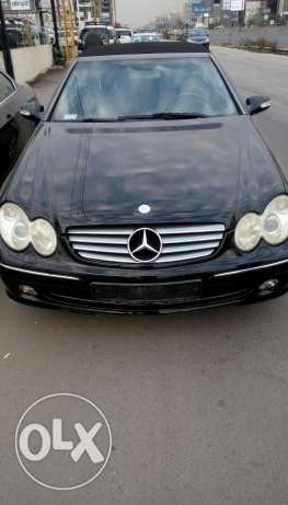 Merecedes clk 320 model 2004 full option 03/843812 ذوق الخراب -  1