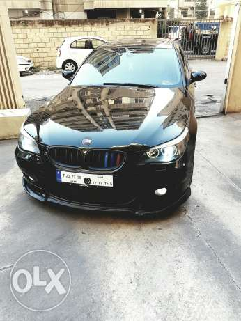 Bmw 530 model 2006 look m5 original sport package رياض الصلح -  3