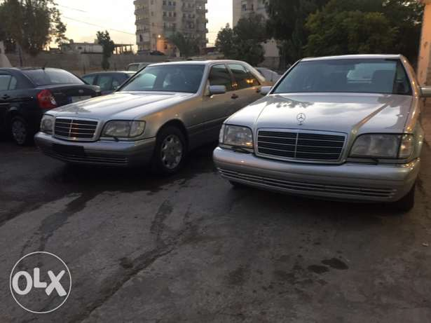 mercedes-benz s klass 320 model 1999 الغازية -  1